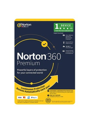Symantec Norton 360 Premium 100GB 1 Device