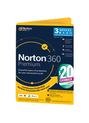 Symantec Norton 360 Premium 100GB 3 Devices